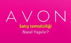 Avon Satış Temsilciliği Yaparak Para Kazanmak