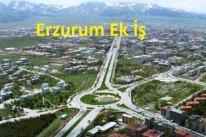 Erzurum Evde Ek İş İmkanları